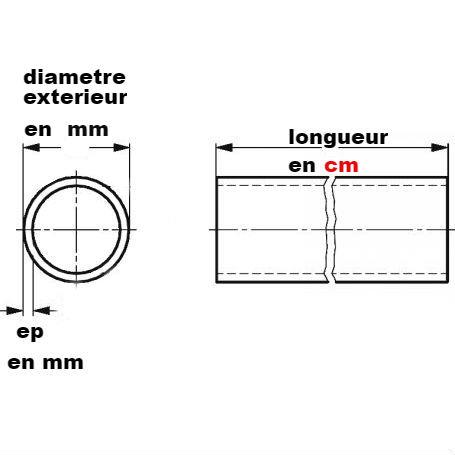Tube rond 88.9x2
