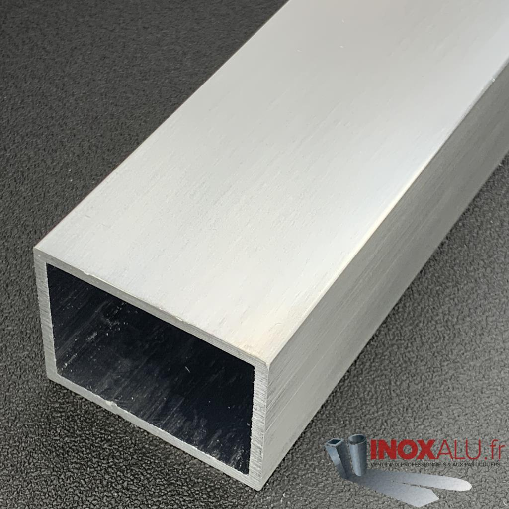 TUBE RECTANGLE 40 X 20 X 2 ALU(6060)