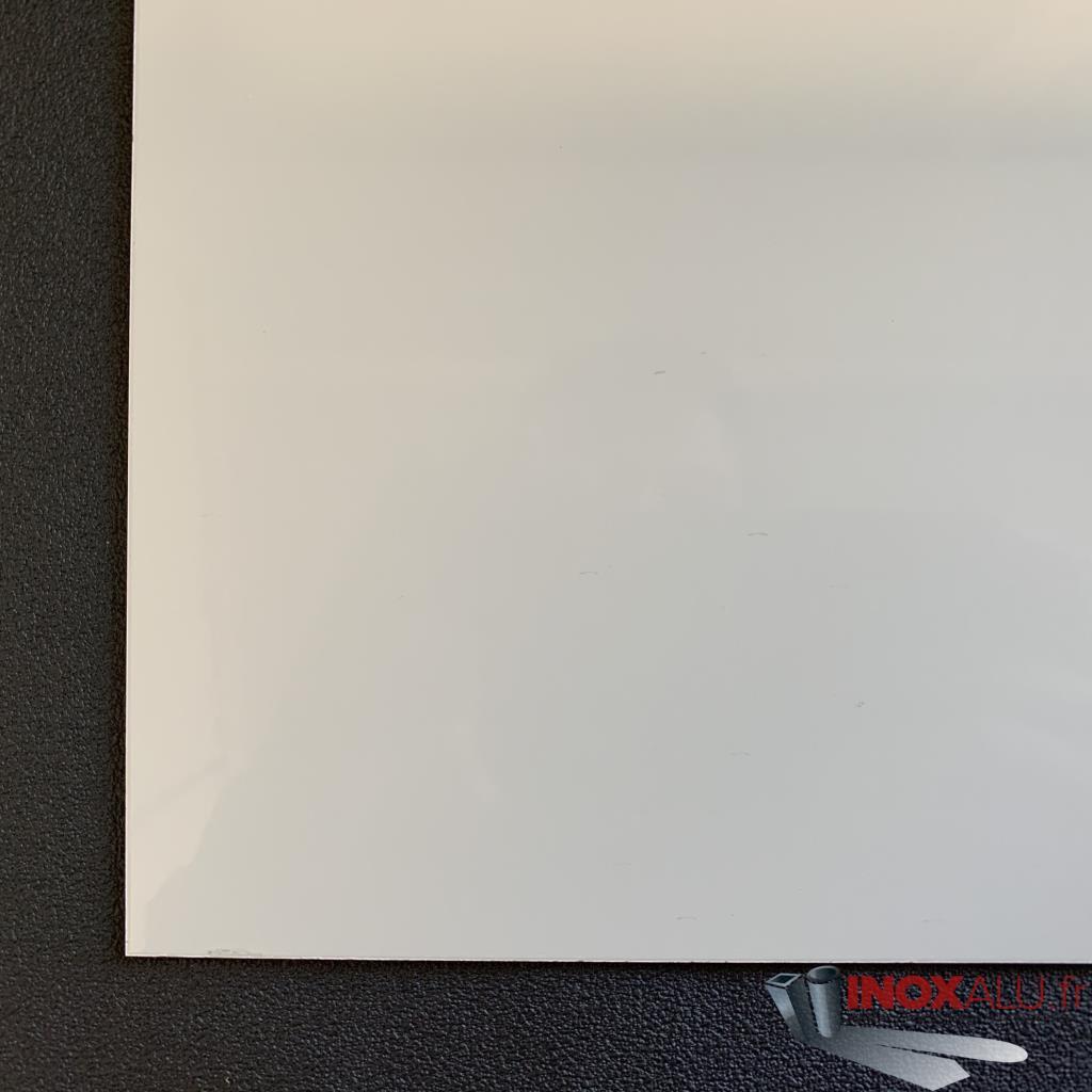 vente de t le aluminium ral 9010 poudre ep plaque alu blanche a la coupe. Black Bedroom Furniture Sets. Home Design Ideas