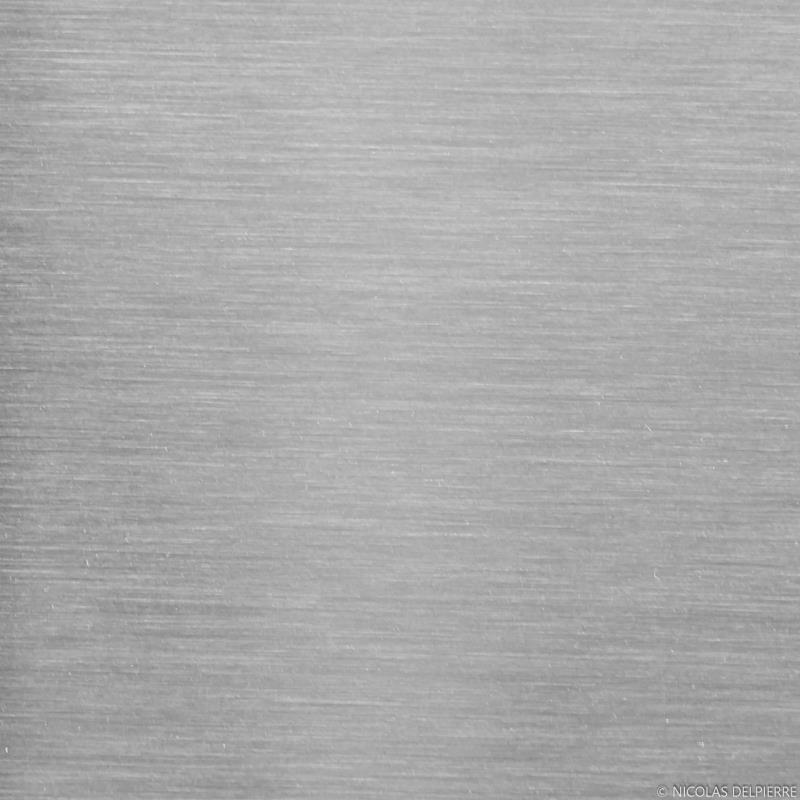 Fond De Hotte Crédence Alu Aspect Inox L100cm H80cm