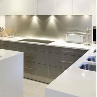barre de crdence inox bross latest barre inox cuisine barre de cuisine barre de credence pour. Black Bedroom Furniture Sets. Home Design Ideas