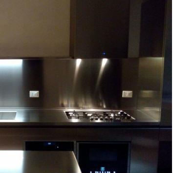 vente de fond de hotte inox pour piano de cuisson de. Black Bedroom Furniture Sets. Home Design Ideas